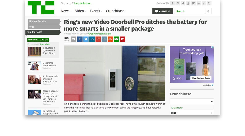 Ring-MediaCoverage-Techcrunch