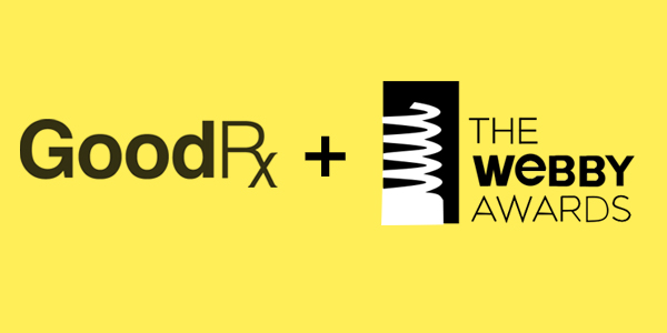 GoodRx Nominated for Webby Award