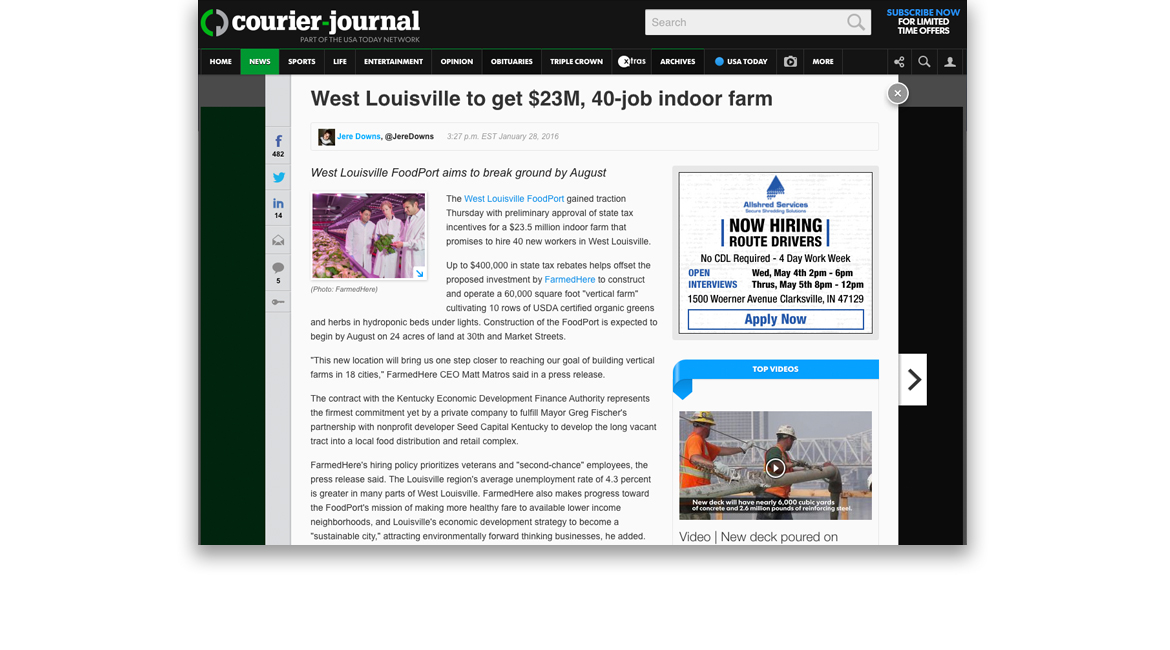 FarmedHere-MediaCoverage-Courier-Journal