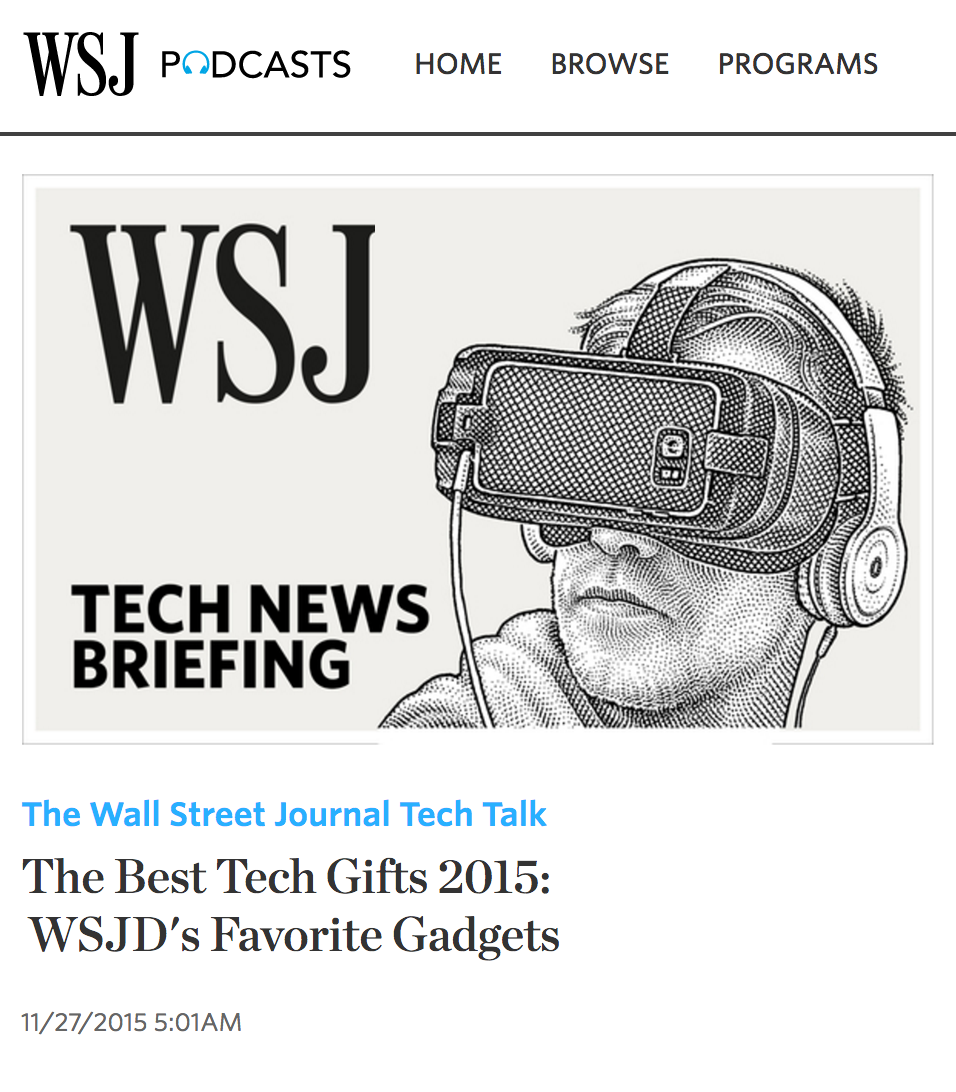 Holiday Gift Guide PR : BIGfish PR : Wall Street Journal : Tech PR