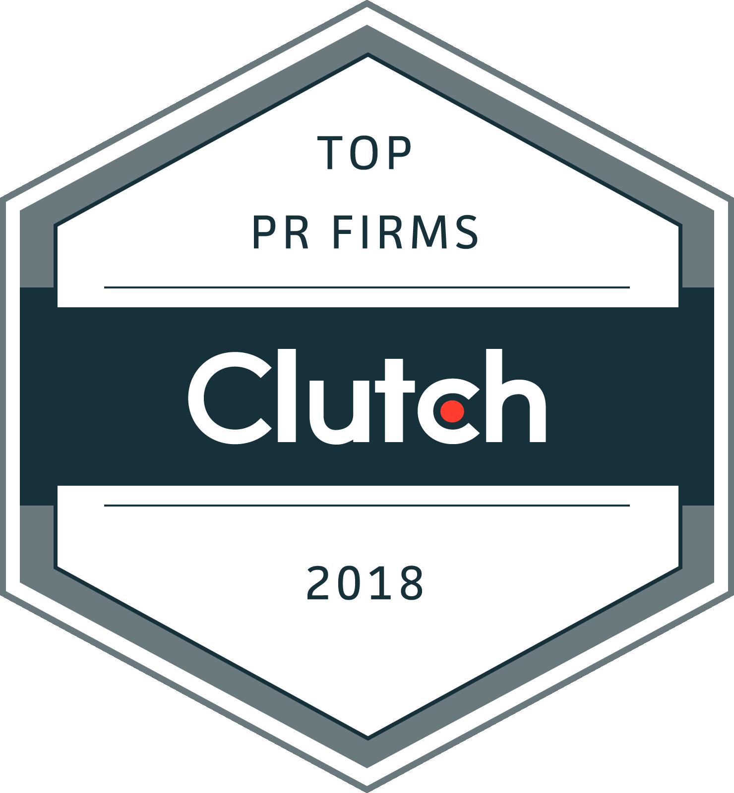 Clutch BIGfish Top PR Agency 2018