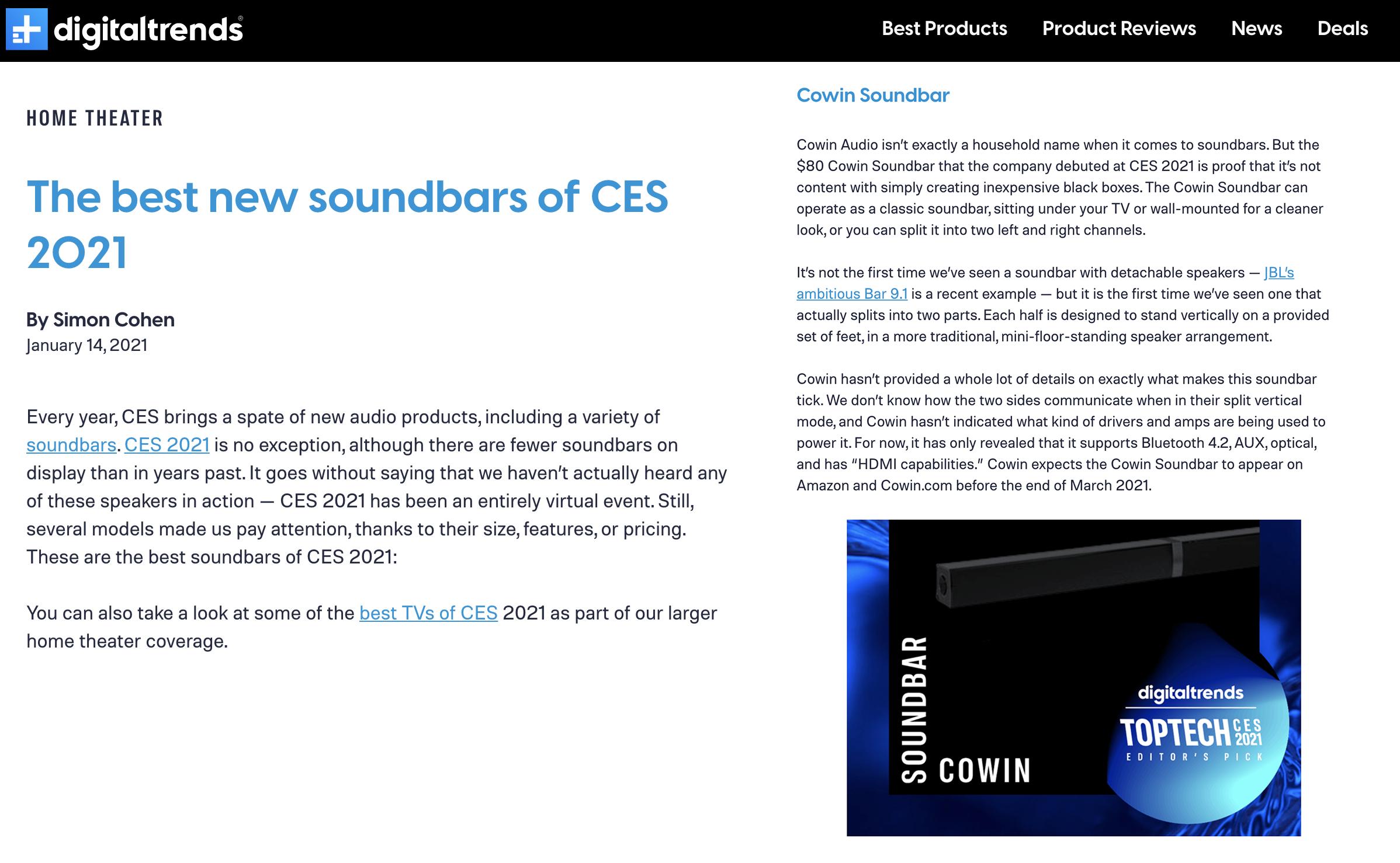 Cowin Audio